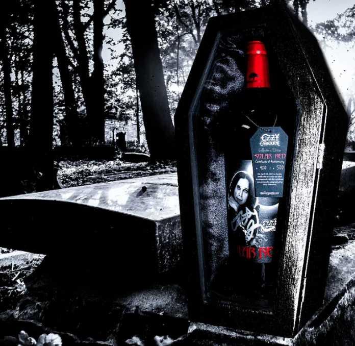 Solar Red novo vinho de Ozzy Osbourne