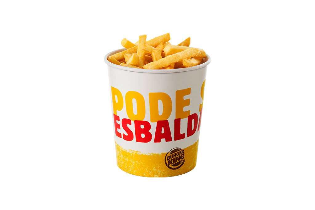 Balde de Batata Frita Burger King