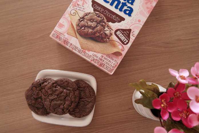 Cookie de chocolate Dona Benta com gotas de Hershey's