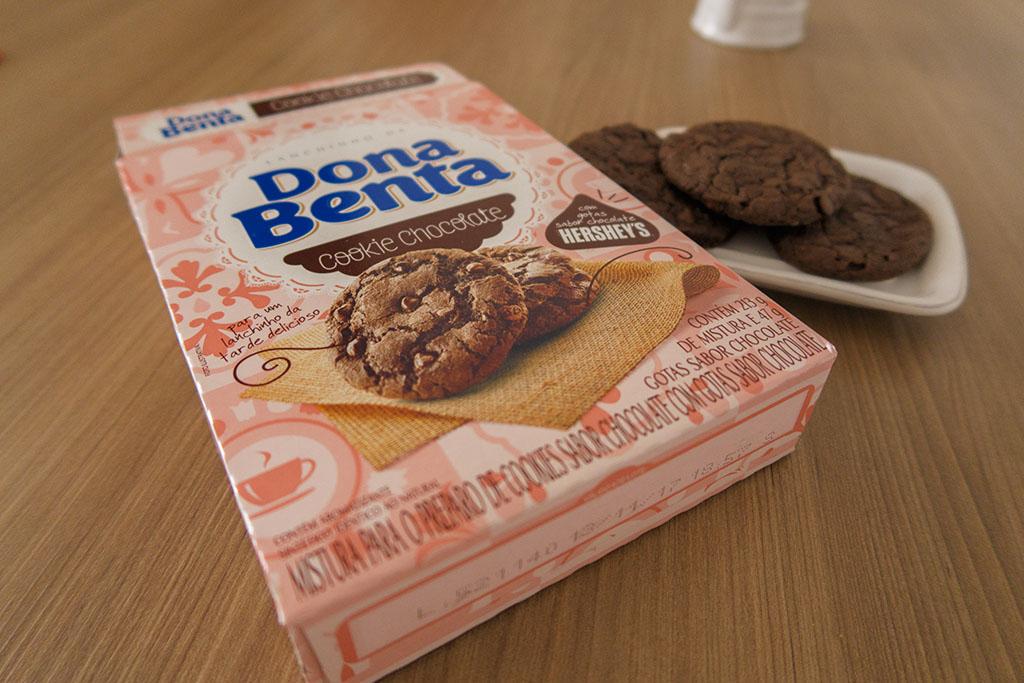 Embalagem Cookie de chocolate Dona Benta