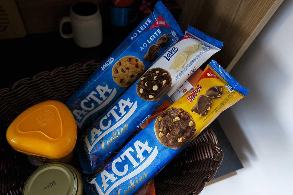 Novos Cookies Lacta