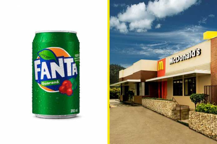 Promoção Fanta Guaraná McDonald's
