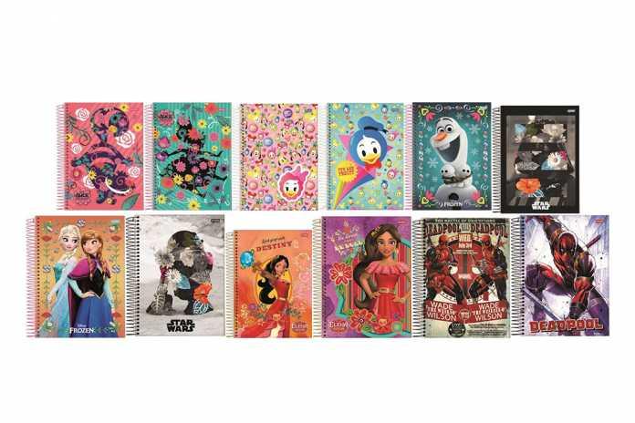 Cadernos Jandaia Disney 2018