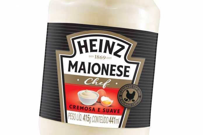 Maionese Chef Vidro Heinz