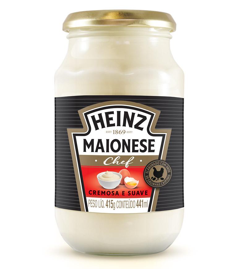 Maionese Chef Vidro 415g Heinz