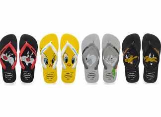 Coleção Havaianas Looney Tunes
