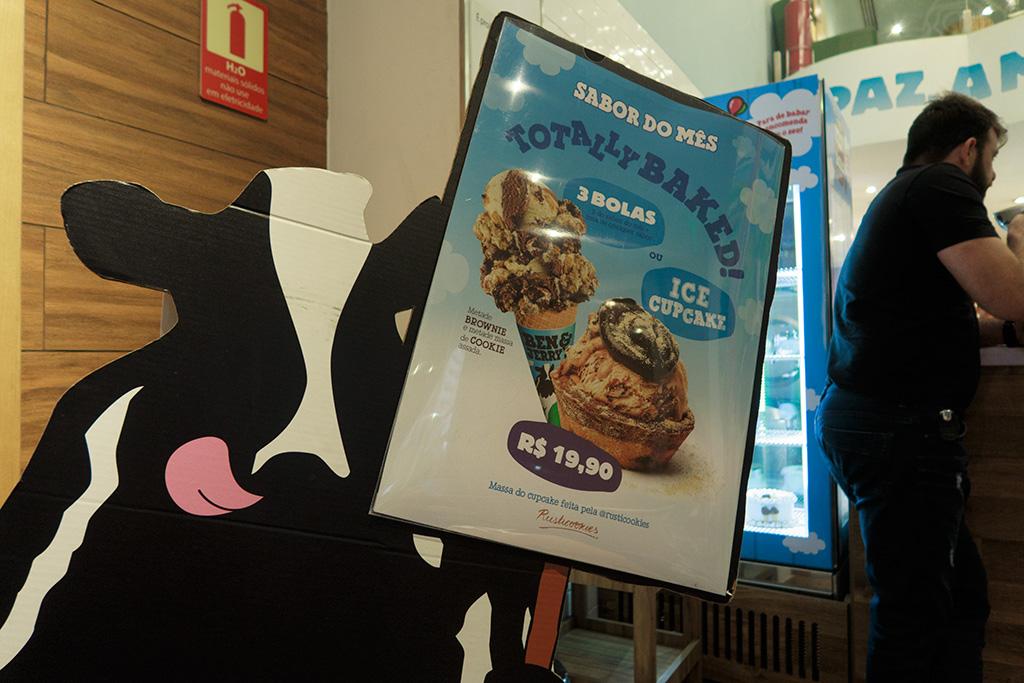 Preço Totally Baked e Ice Cupcake Ben & Jerry's