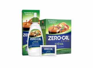 Novo Zero-Cal Stévia