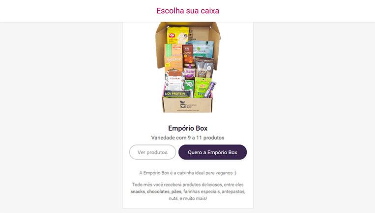 Empório Box Vegana Box