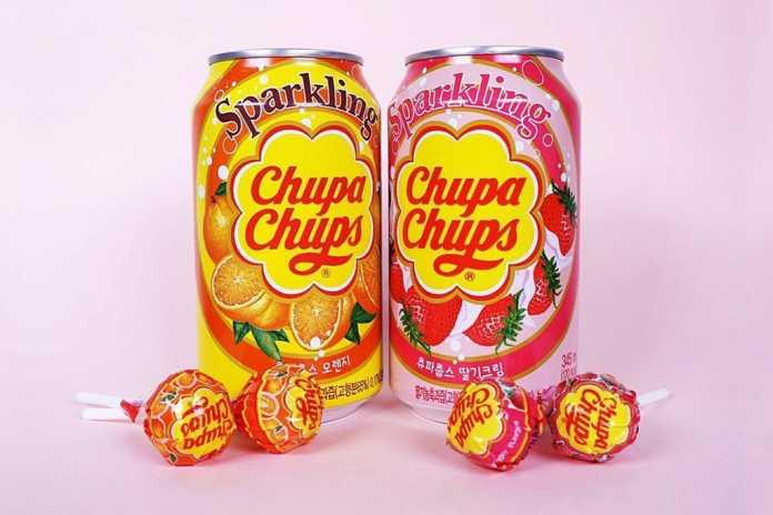 Refrigerante Chupa Chups Coreia do Sul