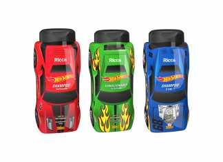 Shampoo e Condicionador Ricca Hot Wheels