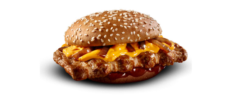 Cheddar McRib Barbecue McDonald's