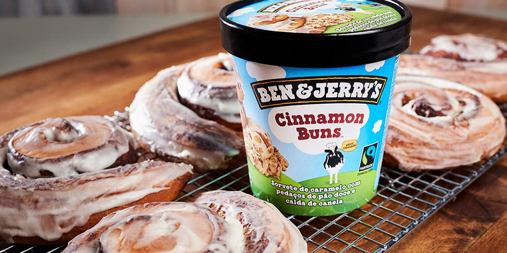 Cinnamon Buns Ben & Jerry's