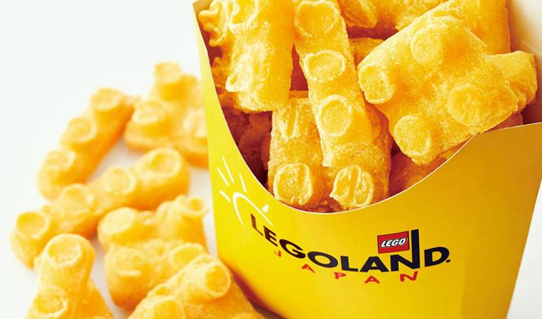 Batatas fritas em formato de LEGO 02
