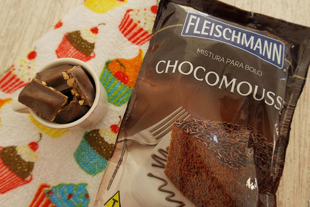 Embalagem Chocomousse Fleischmann