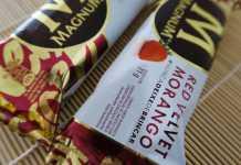 Embalagem Magnum Red Velvet Kibon