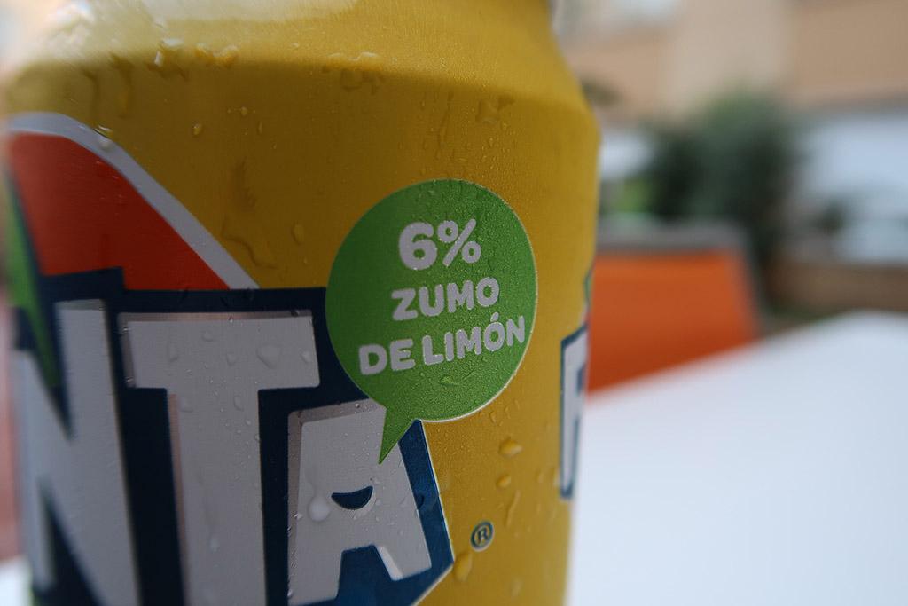 Fanta 6% Suco de Limão Europa