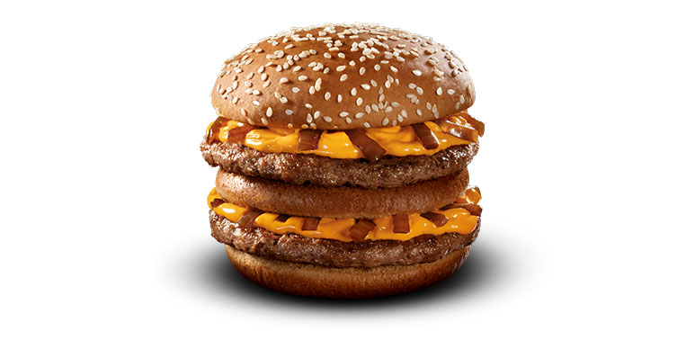 Grand Cheddar McMelt McDonald's
