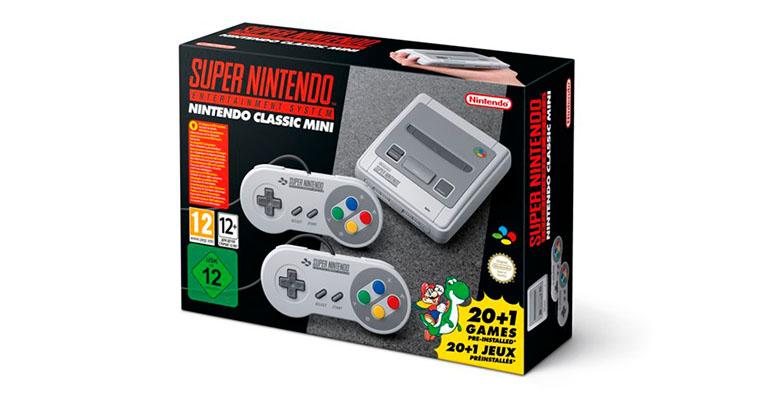 Mini Super Nintendo Europa