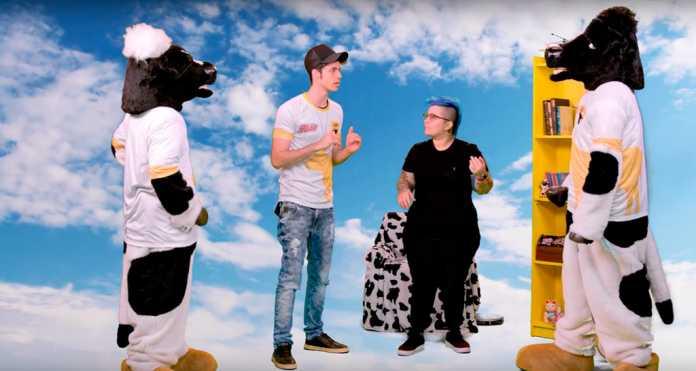 Enaldinho e Calú Quarto da Cowzação