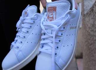 Adidas Stan Smith Branco com Rosa capa