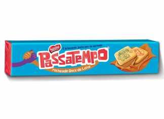 Passatempo recheado Doce de Leite Nestlé