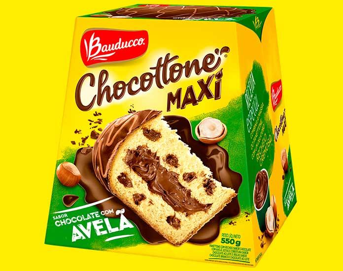 Chocottone Avelã 550g Bauducco