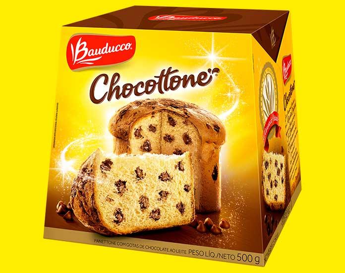 Chocottone Gotas 500g Bauducco