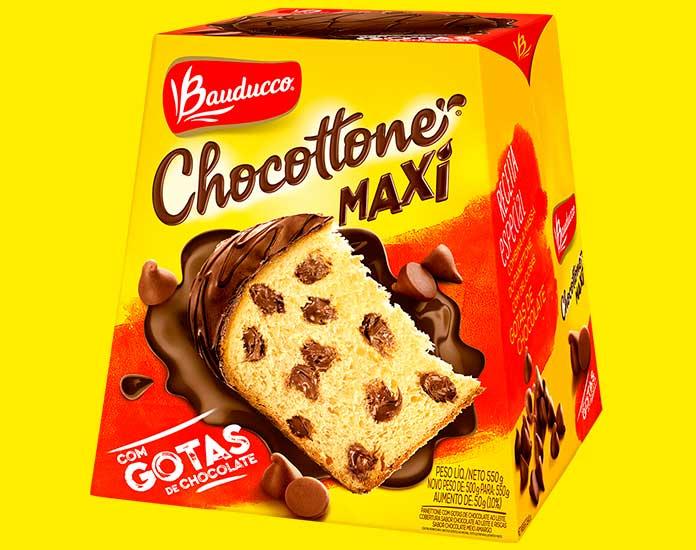 Chocottone MAXI 550g Bauducco