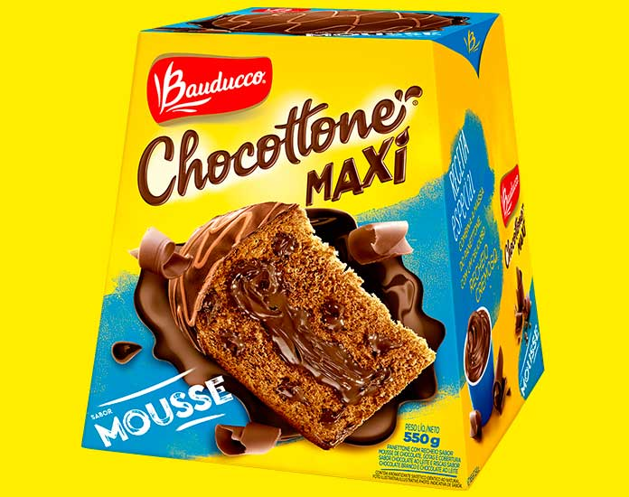 Chocottone Mousse 550g Bauducco