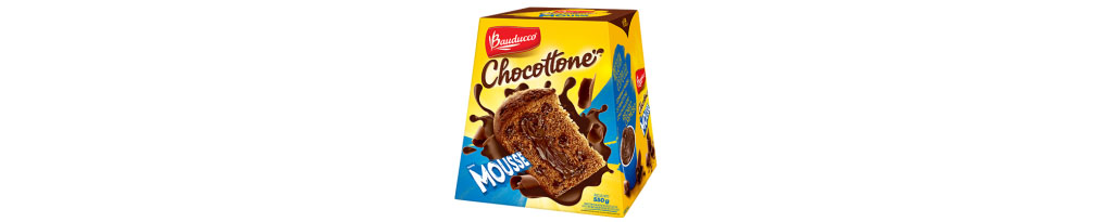 Chocottone Mousse Bauducco 500g