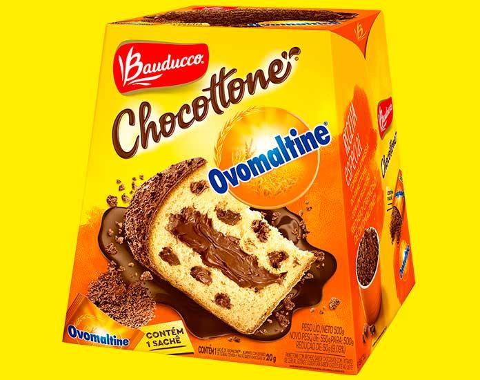 Chocottone Ovomaltine 500g Bauducco