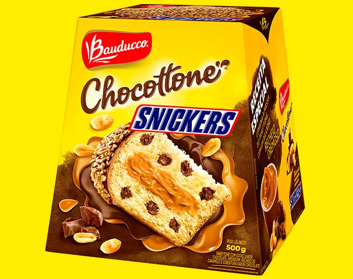Chocottone Snickers 500g Bauducco