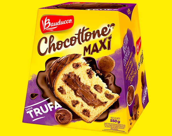 Chocottone Trufa 550g Bauducco