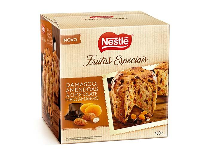 Damasco, Amêndoas e Chocolate Meio Amargo 400g Nestlé