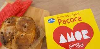 Embalagem Panettone Paçoca Amor