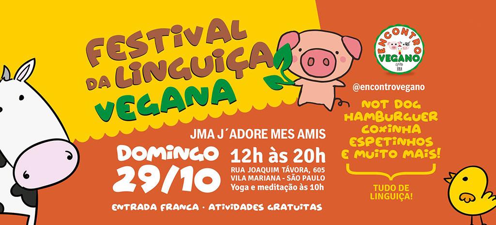 Festival da Linguiça Vegana