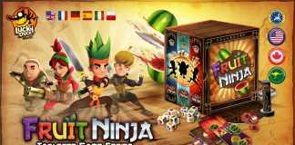 Fruit Ninja Tabuleiro
