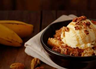 Ice and Fire Banana Cobbler Outback