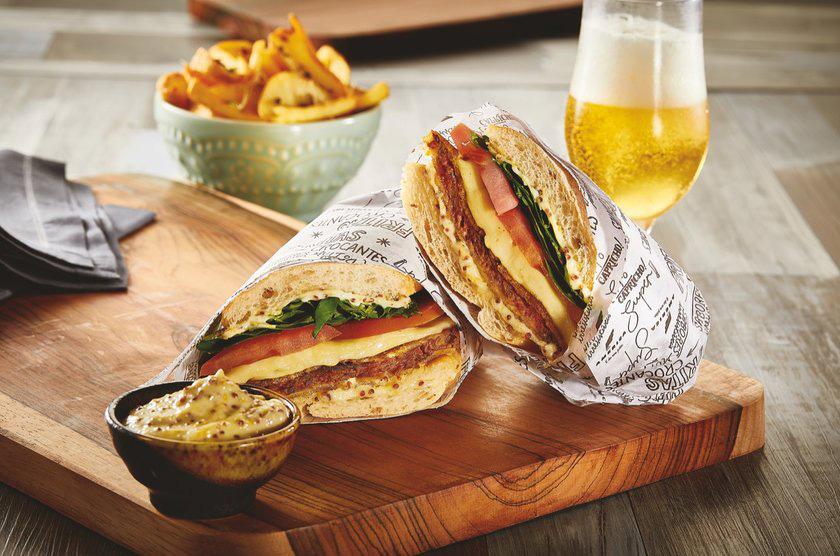 Milanesa Sanduich Restaurante America