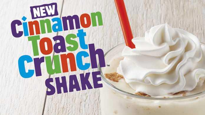 Milk Shake de Canela Burger King