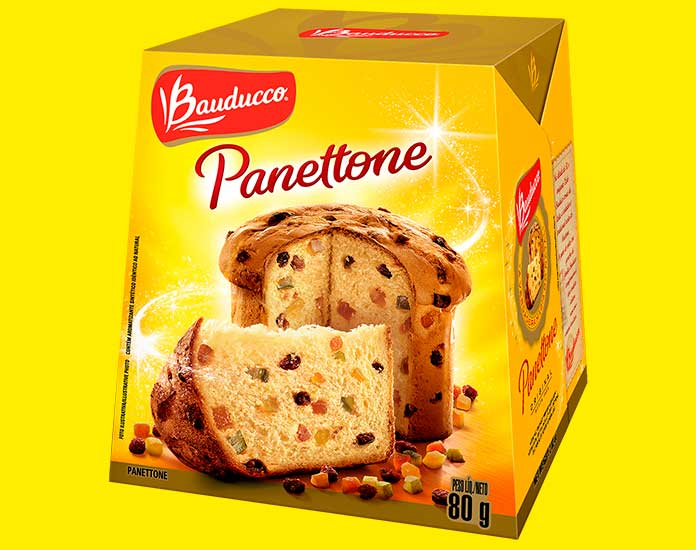 Mini Panettone 80g Bauducco
