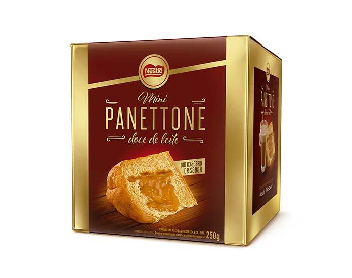 Mini Panettone Doce de Leite 250g Nestlé