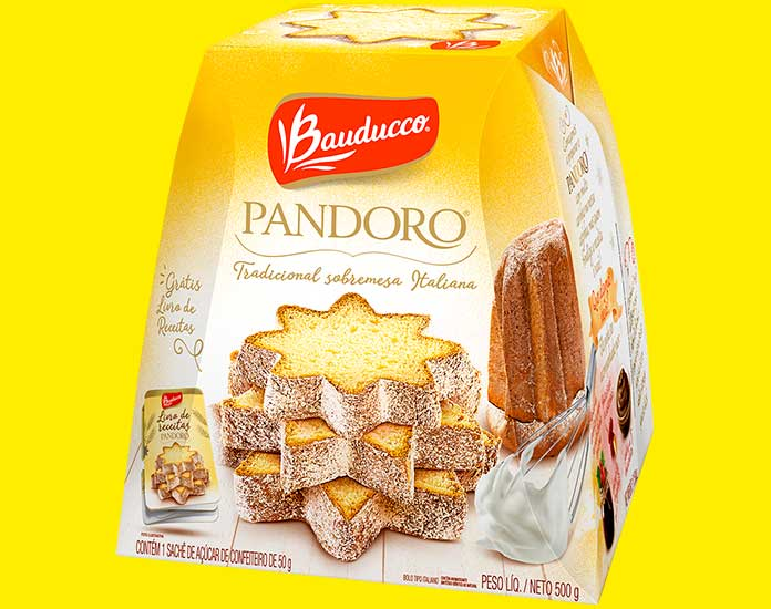 Pandoro 500g Bauducco