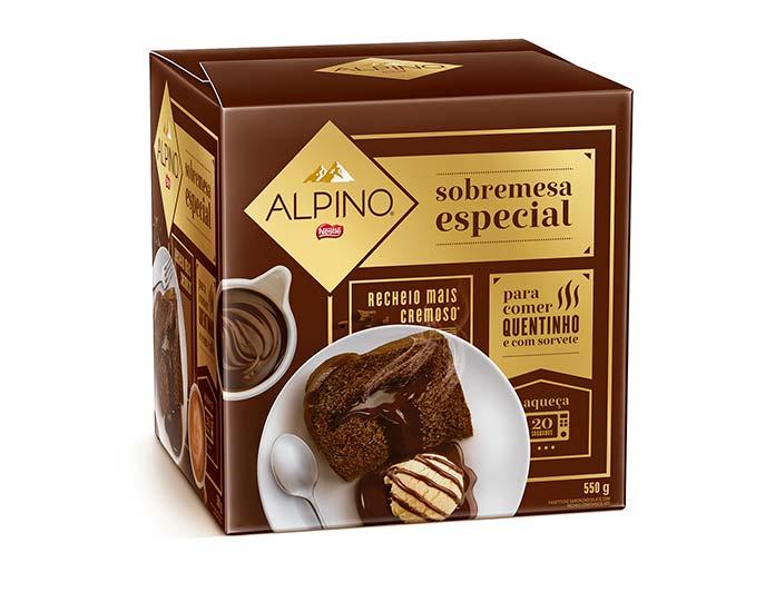 Panettone Alpino Sobremesa Especial 550g Nestlé