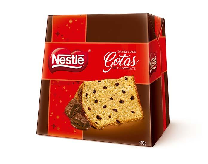 Panettone Gotas de Chocolate 400g Nestlé