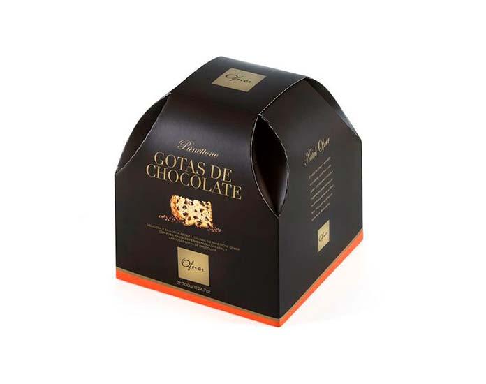 Panettone Gotas de Chocolate 700g Ofner