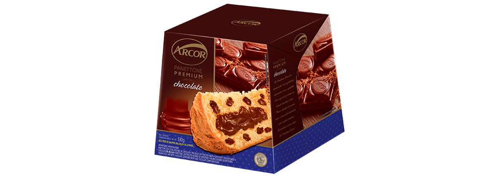 Panettone Premium Chocolate 530g Arcor