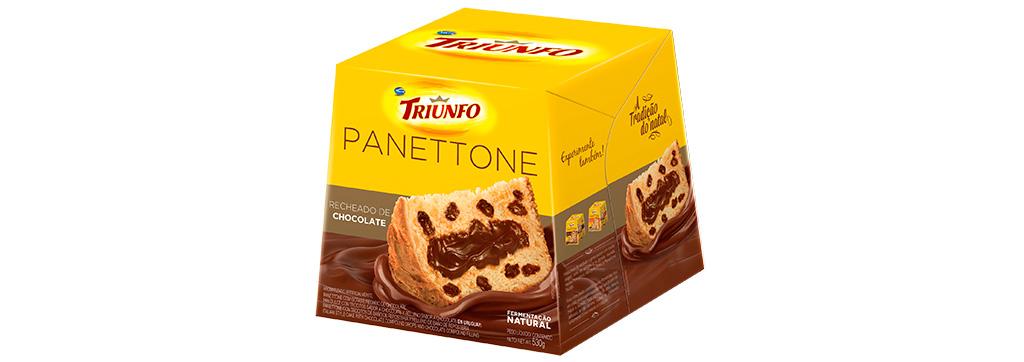 Panettone Recheado 530g Triunfo