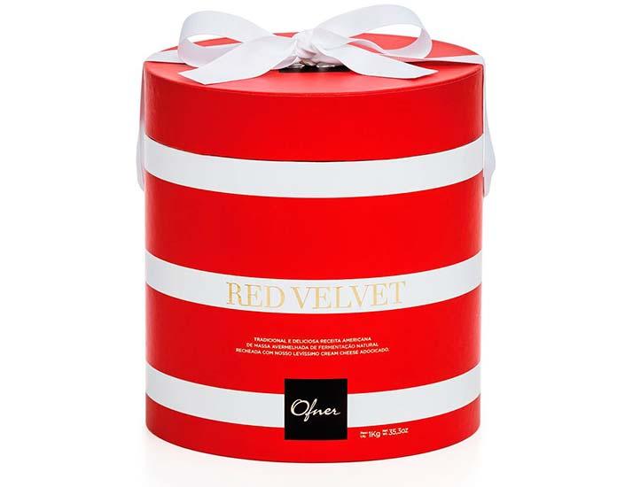Panettone Red Velvet 1kg Ofner